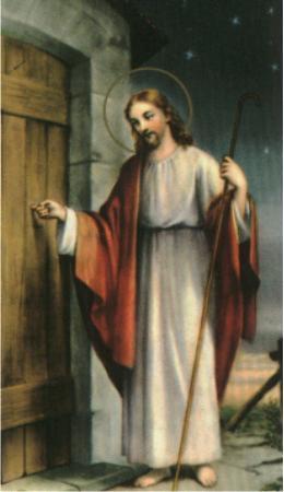 jesus knocking at door